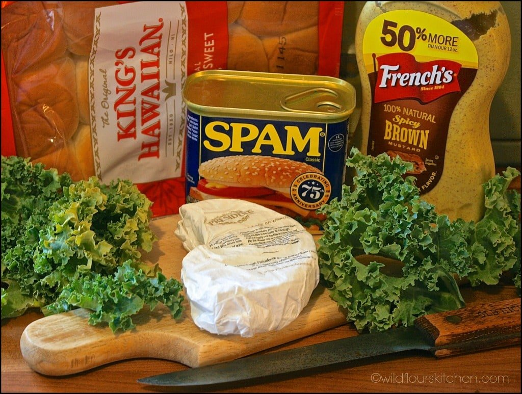 spam slider ingredients