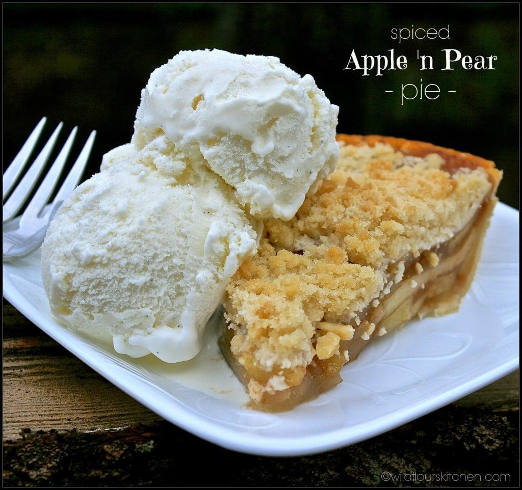 apple 'n pear pie