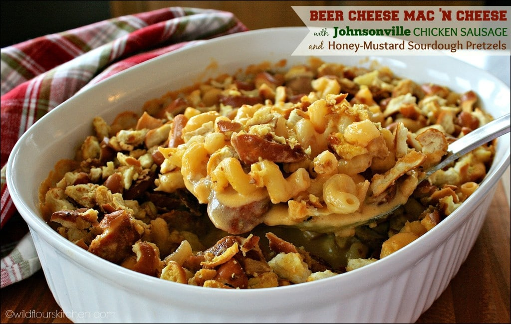 beer cheese mac 'n cheese main