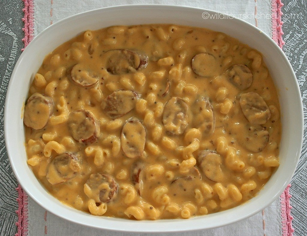 beer mac n cheese prebake