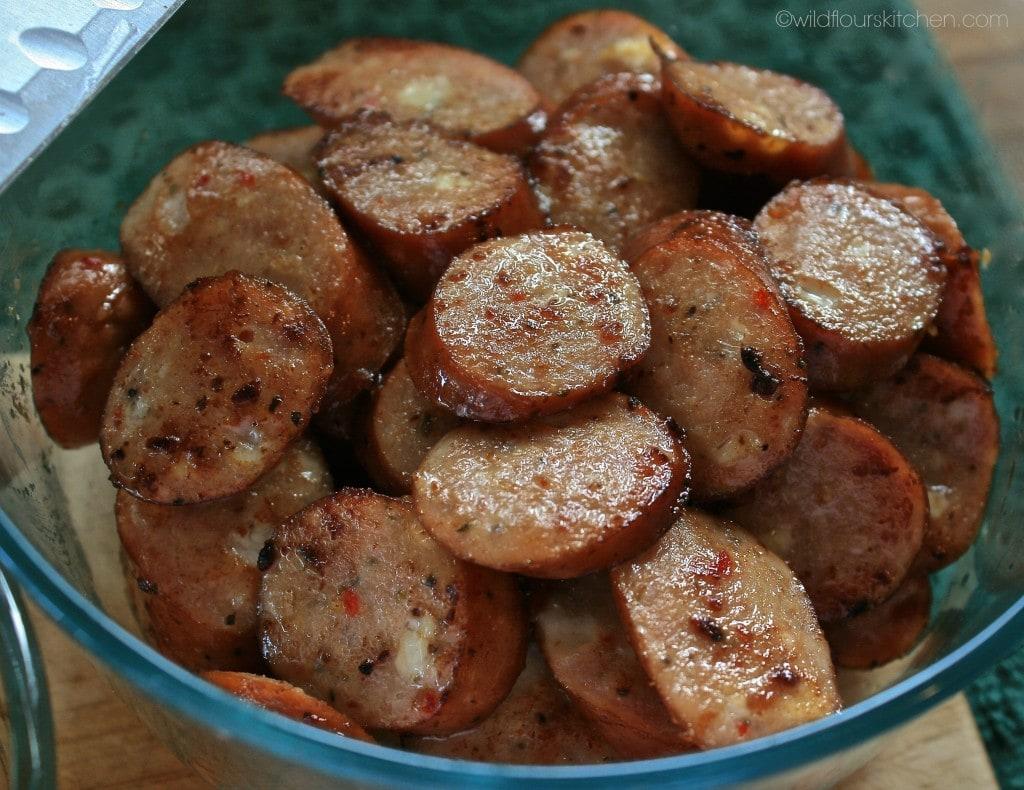 chicken sausage j-ville