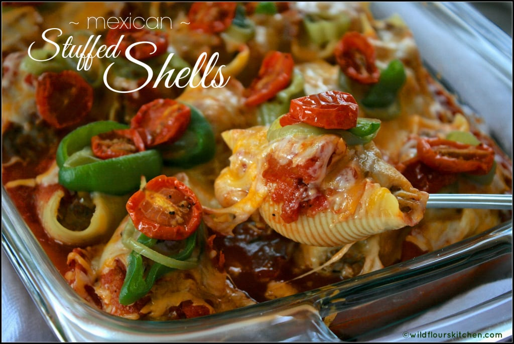 mexican stuffed shells main