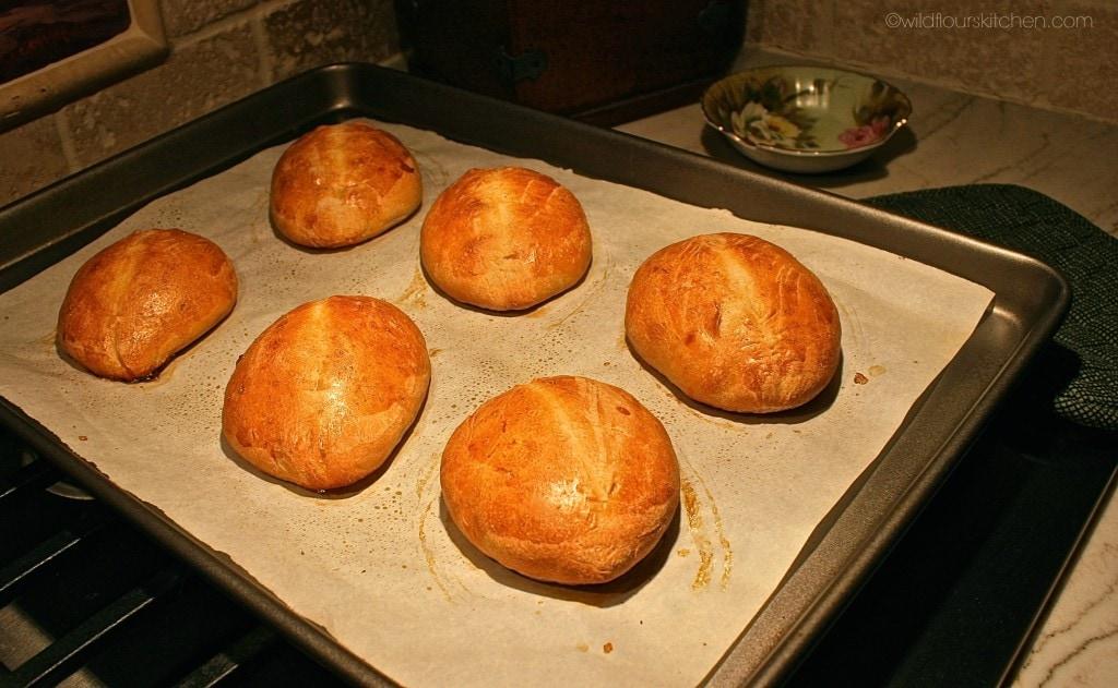 bolillos baked