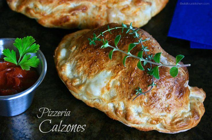 Pizzeria-Style Calzones