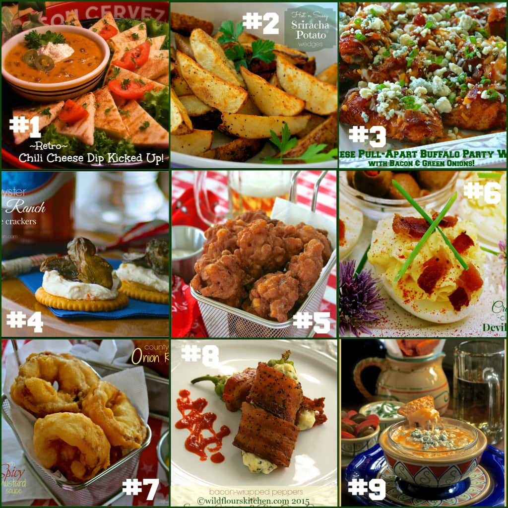 super bowl collage appies