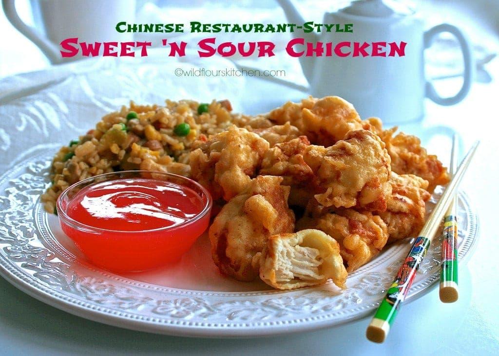 sweet n sour chicken main