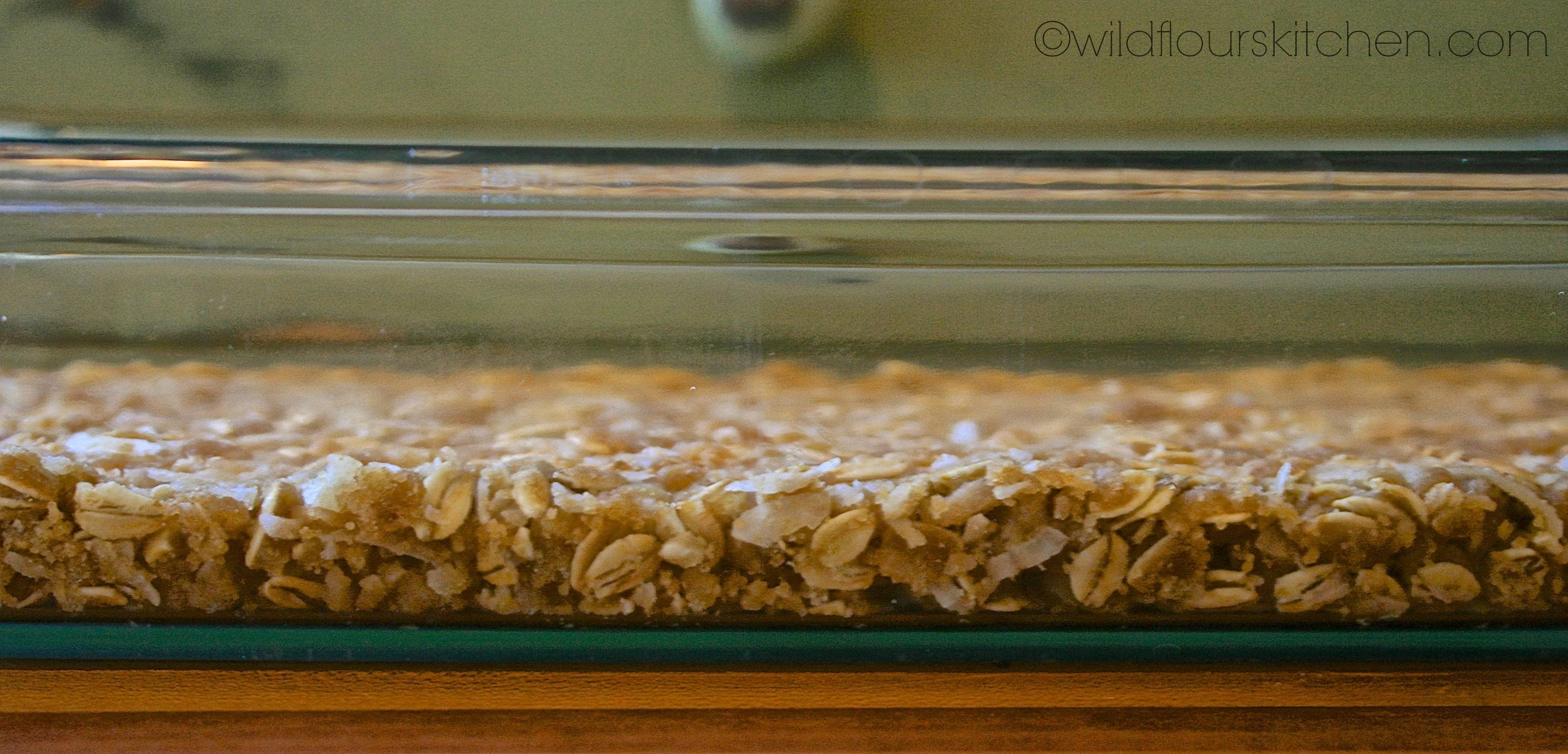 Lemon Blueberry Bars With Coconut Crust Recipe — Dishmaps
