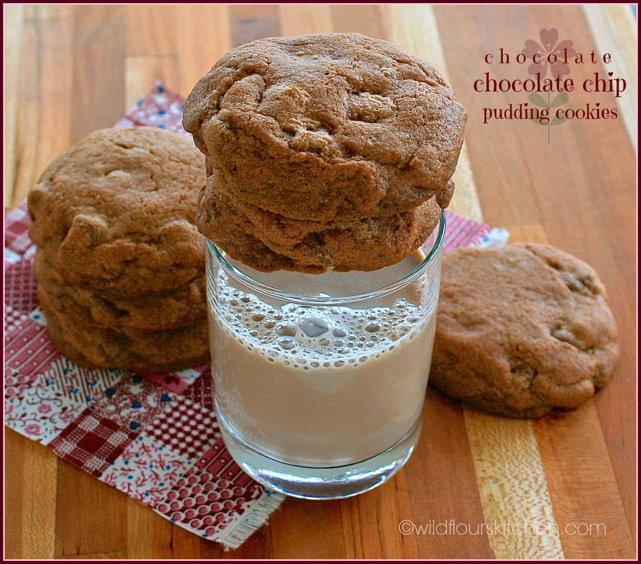 Chocolate Pudding Cookies 2