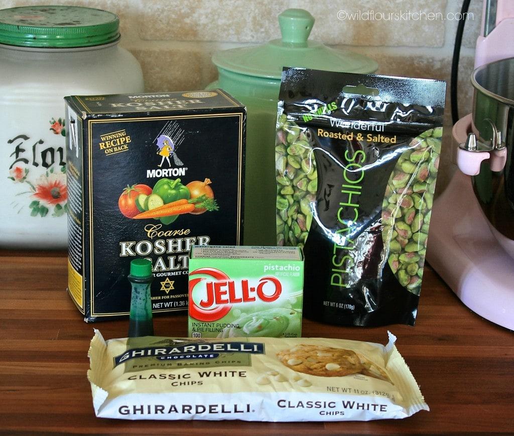 pistachio cookie ingredients