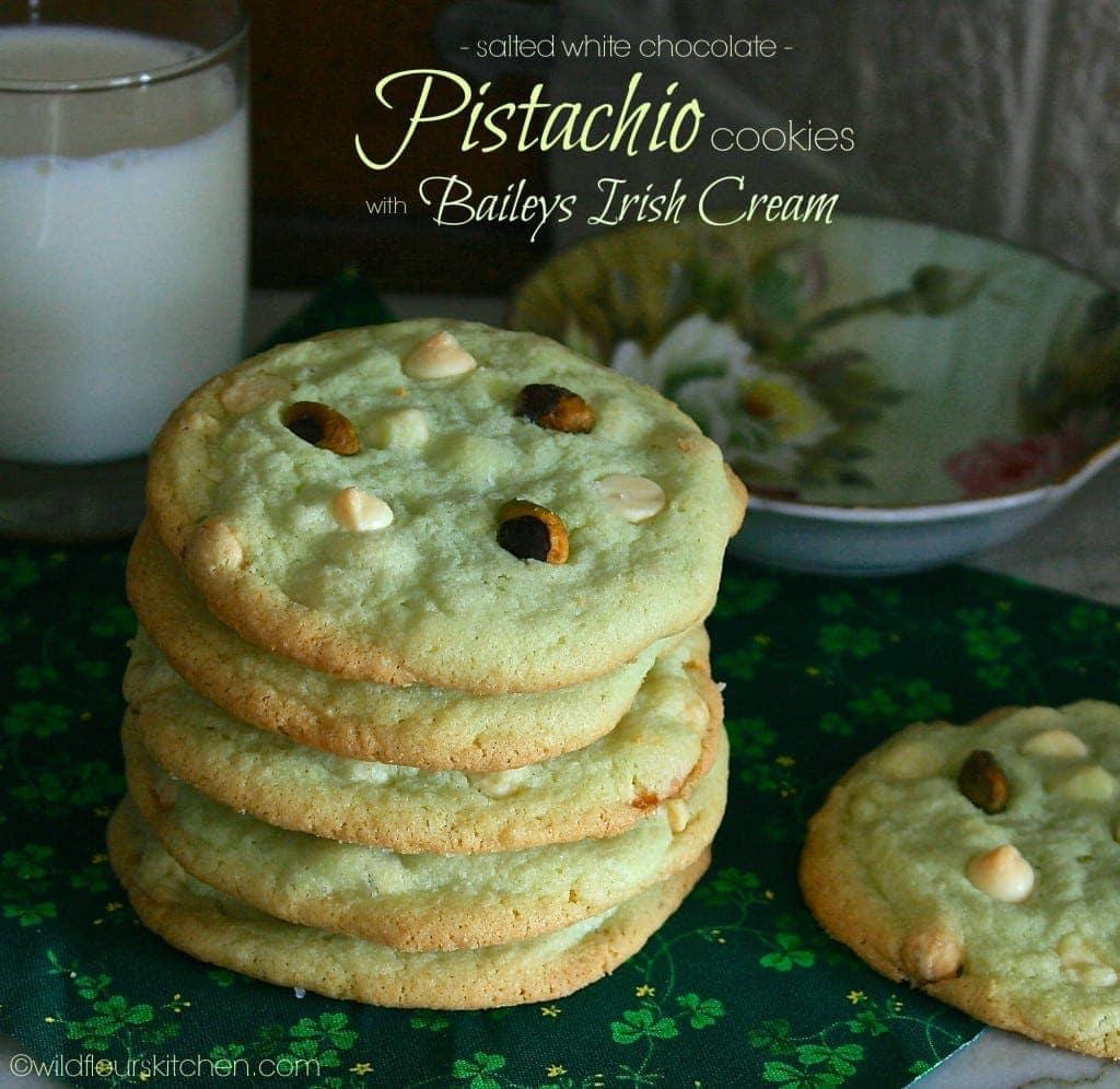 pistachio cookies main
