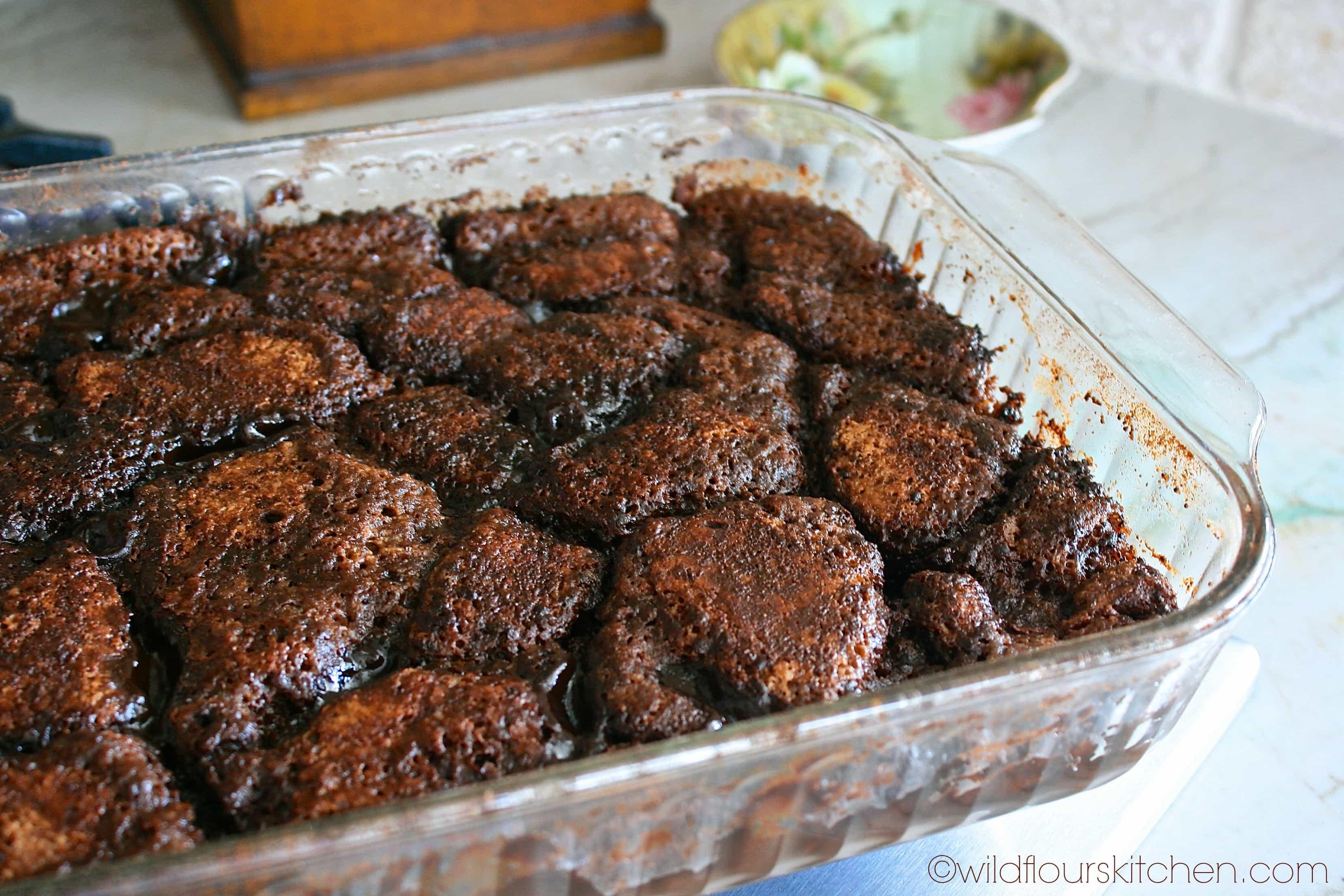 Chocolate Cobbler with Hazelnut, Espresso & Cinnamon - Wildflour's ...