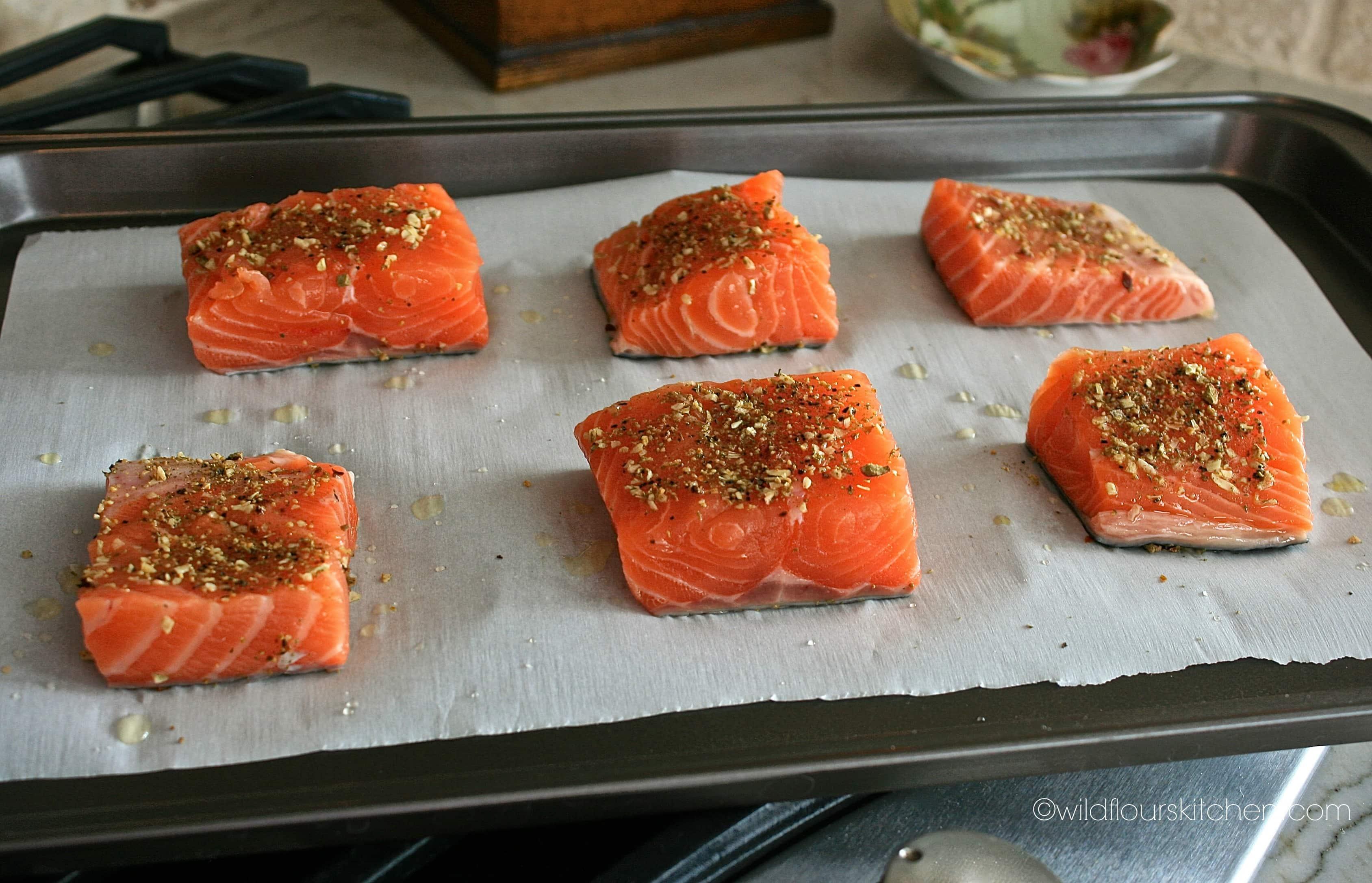 Fresh Pineapple Salmon Sliders with Brie & Creamy Orange-Mango Slaw ...