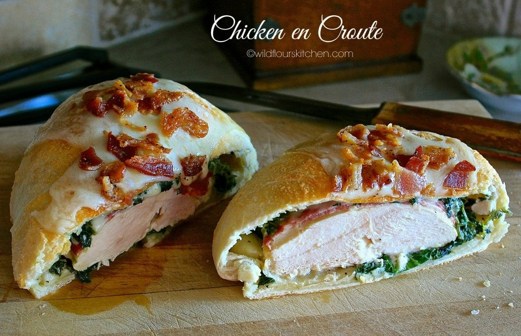 chicken en croute spinach 2