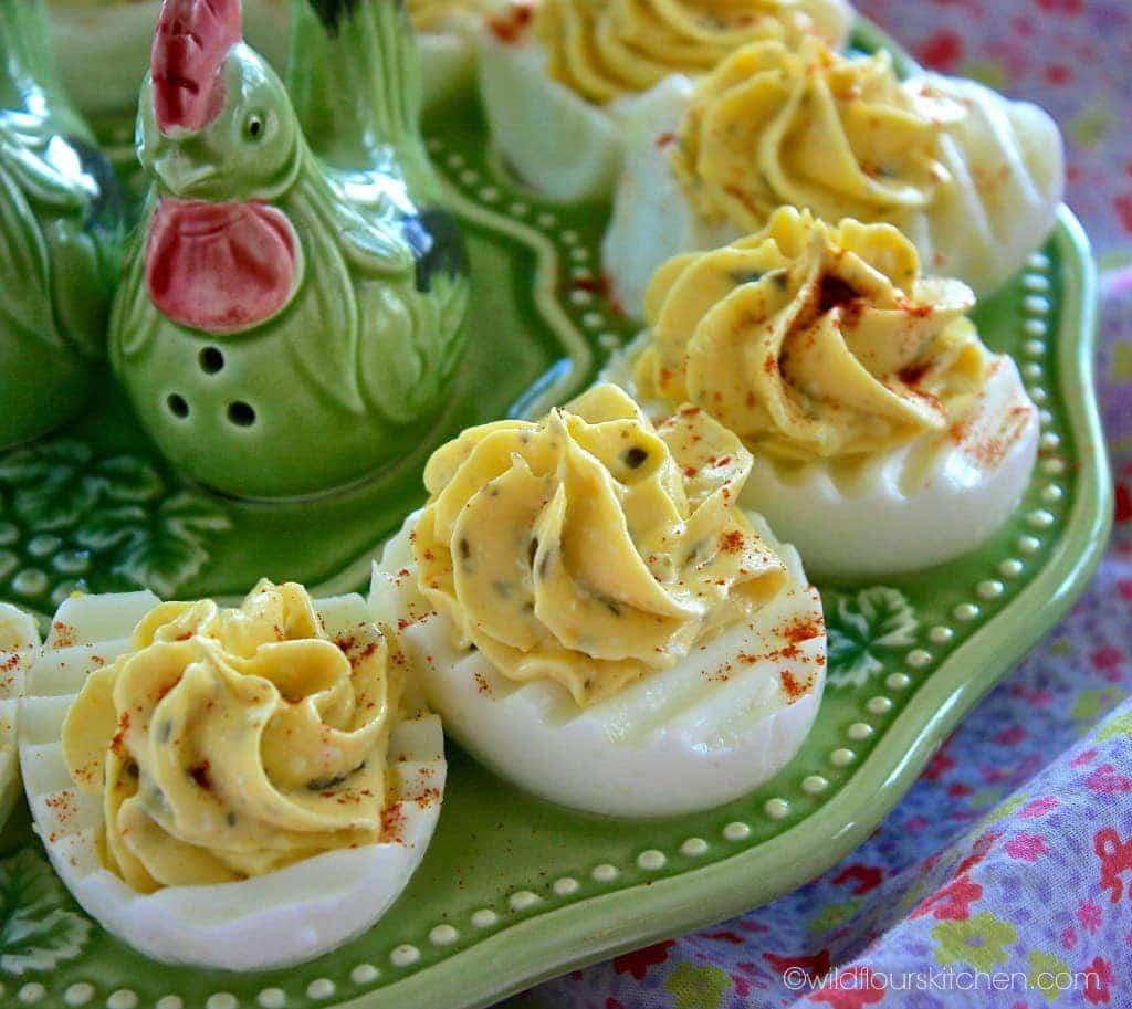 pesto deviled eggs 2
