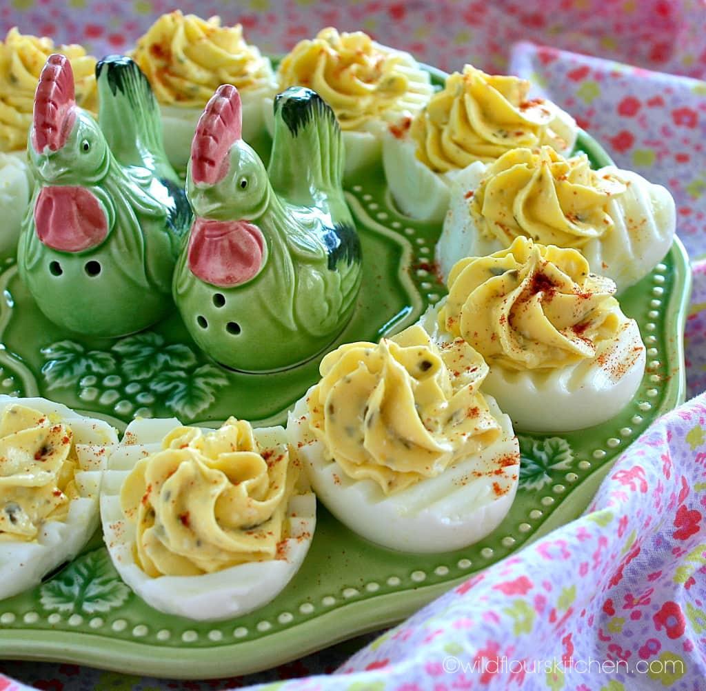 pesto deviled eggs full