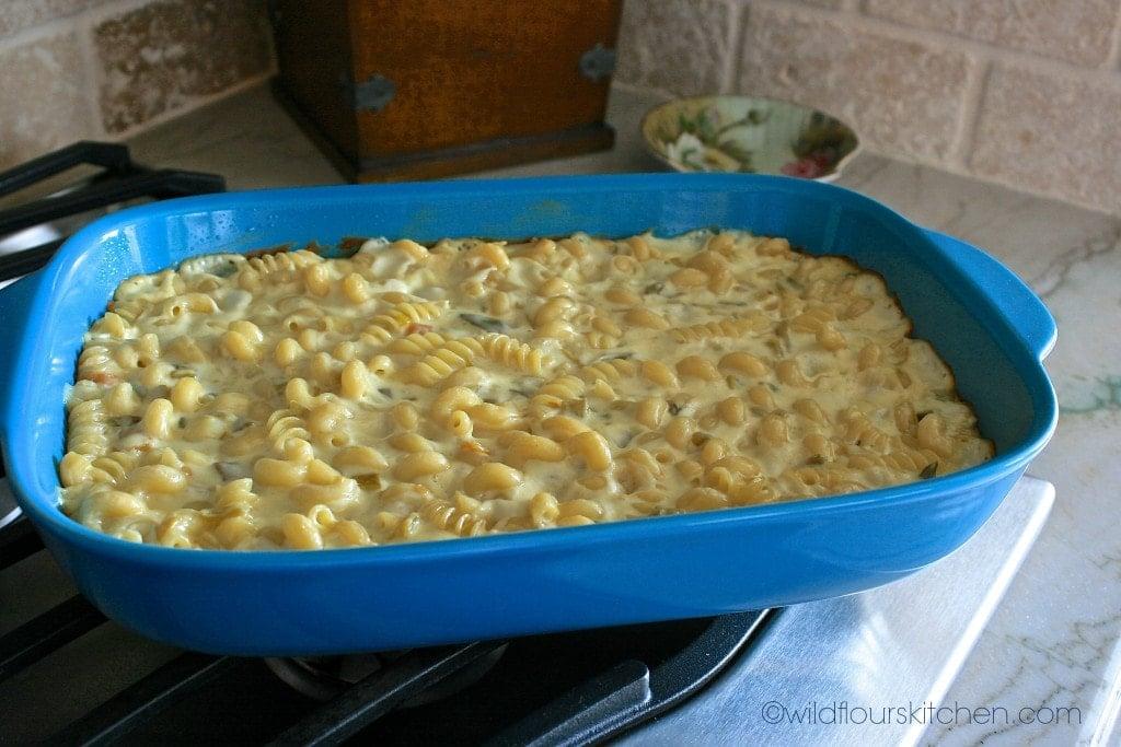 queso blanco mac baked
