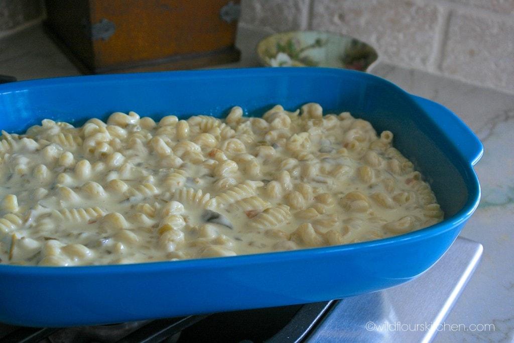 queso blanco mac prebake