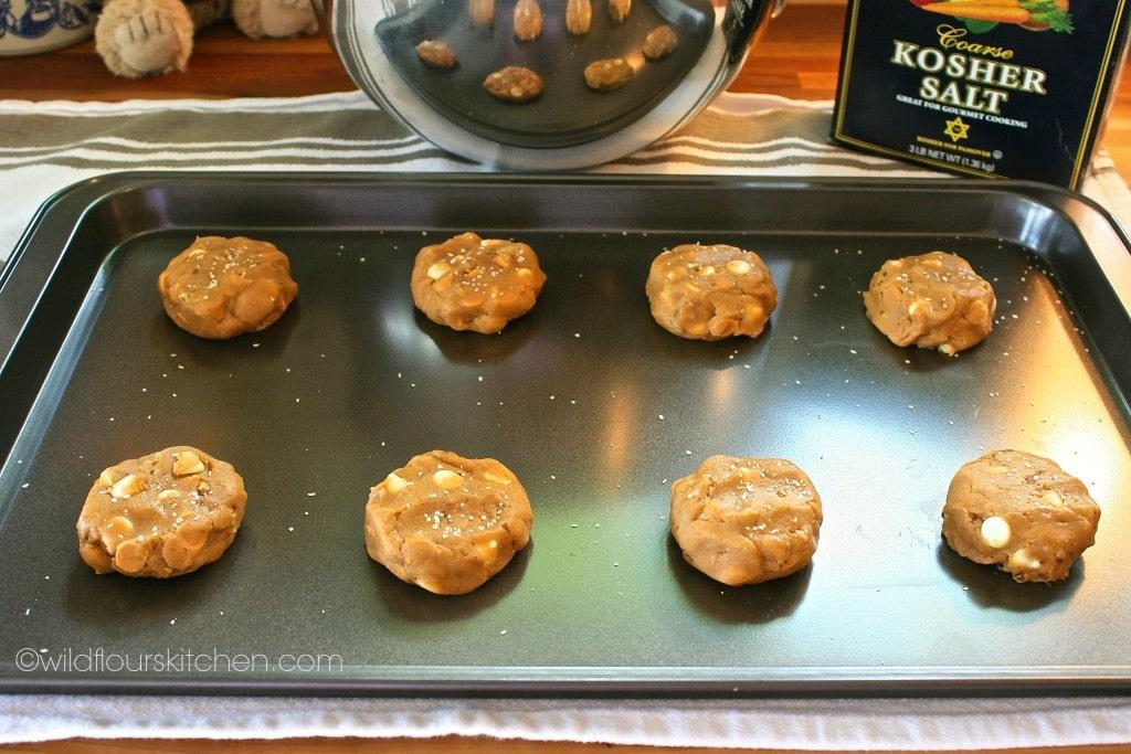 butterscotch cookies prebake