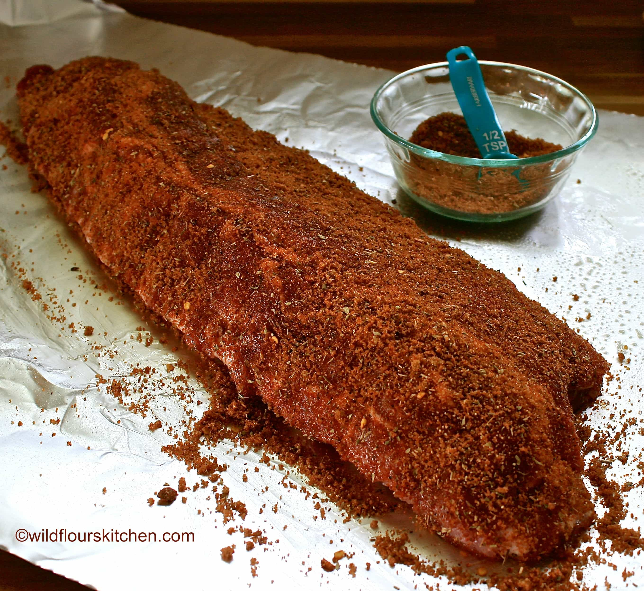 Cajun Spiced Barbecue Ribs Recipe — Dishmaps
