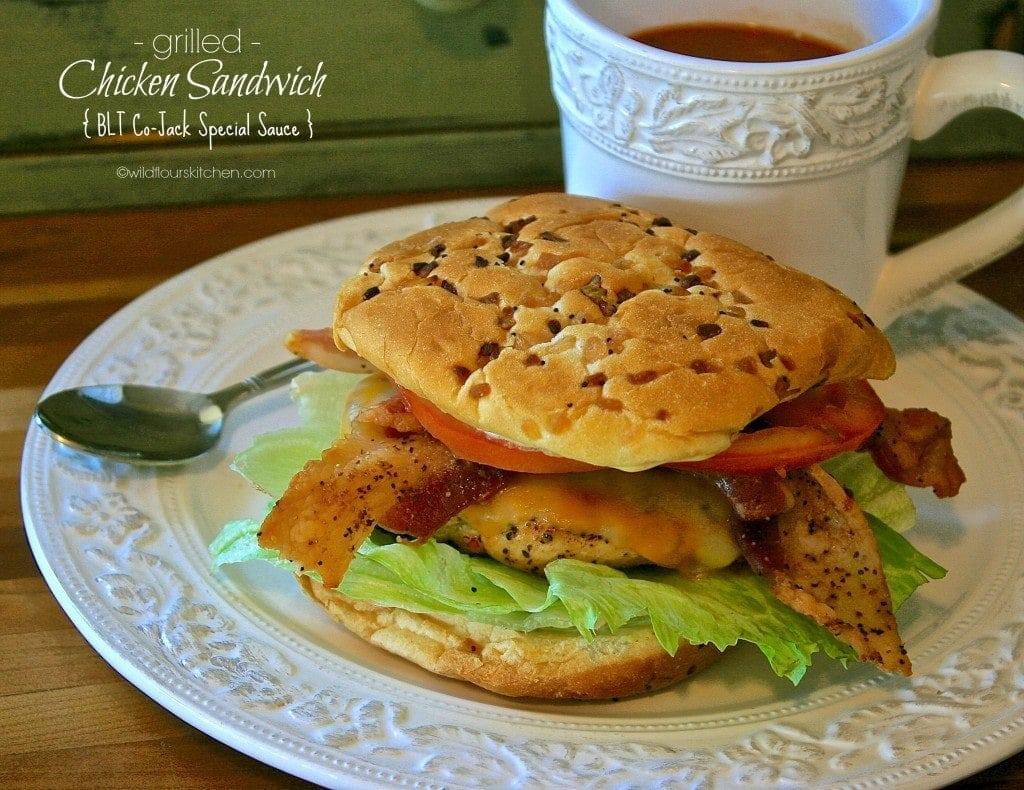 chicken sandwich grilled