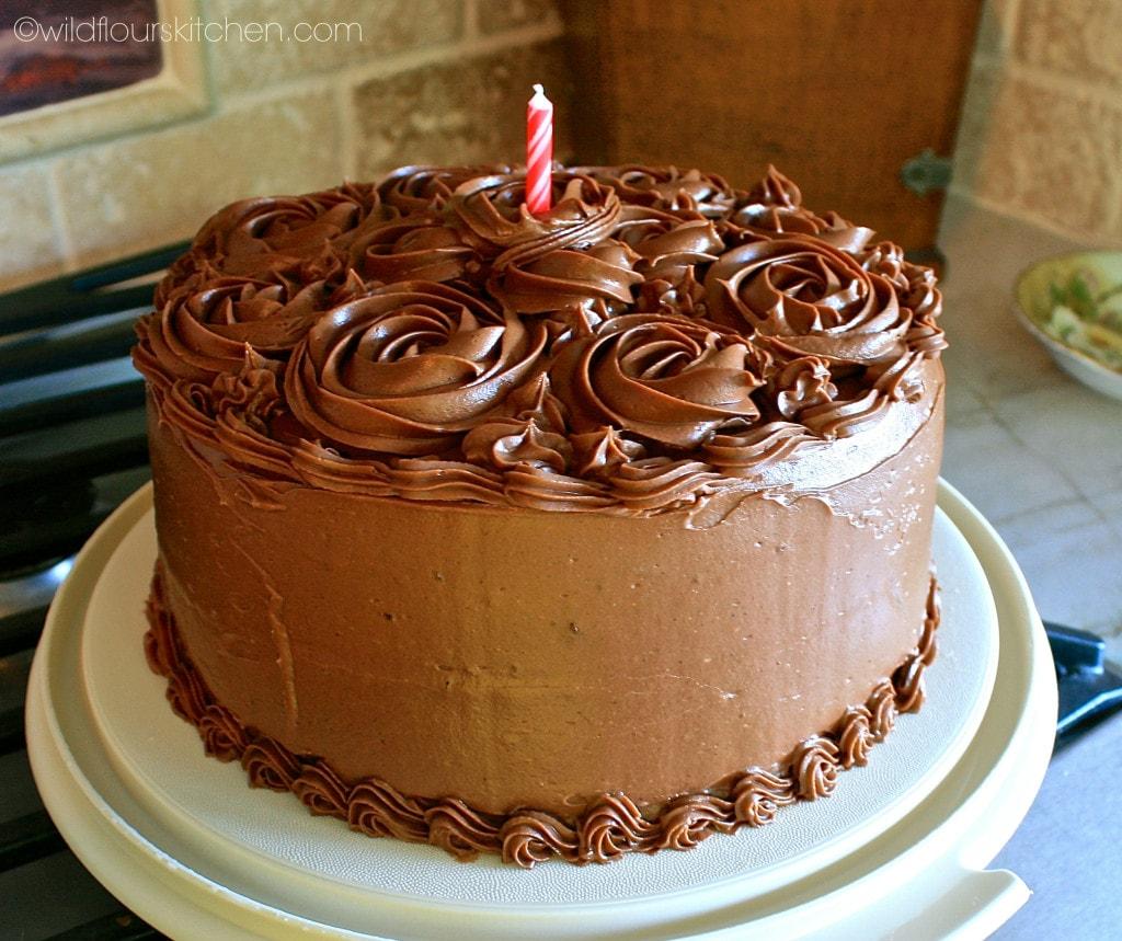 chocolate bday cake 2