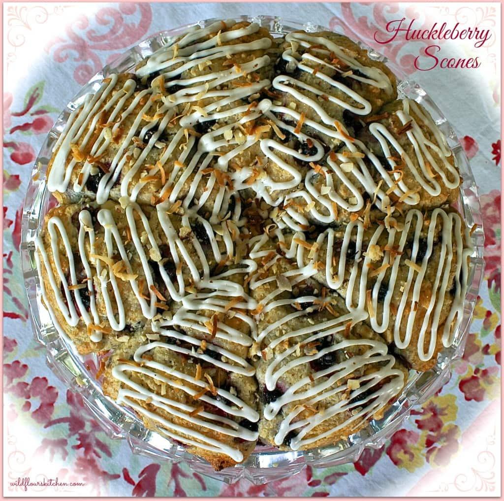 huckleberry scones