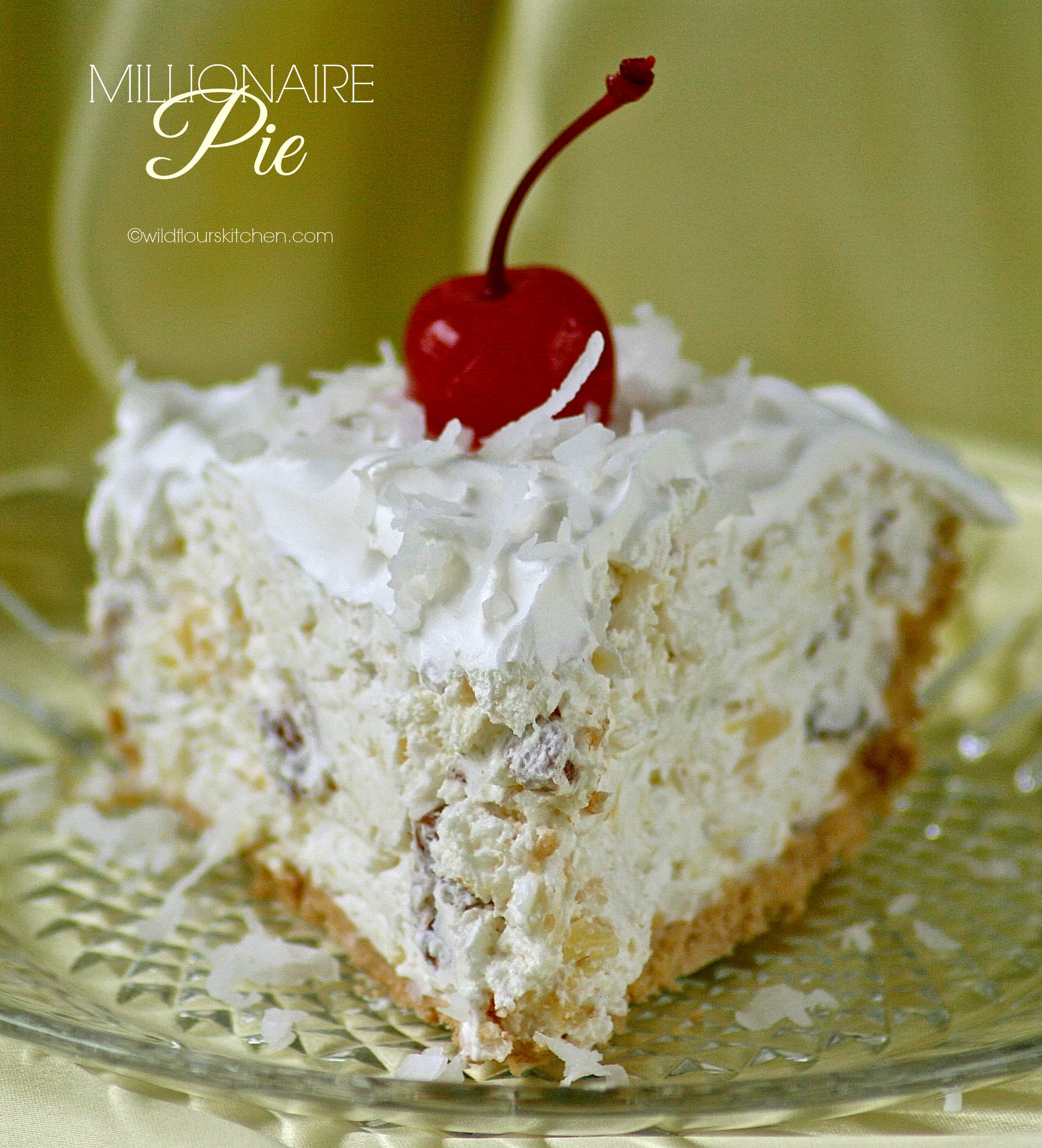 Creamy Classic Millionaire Pie Wildflour S Cottage Kitchen