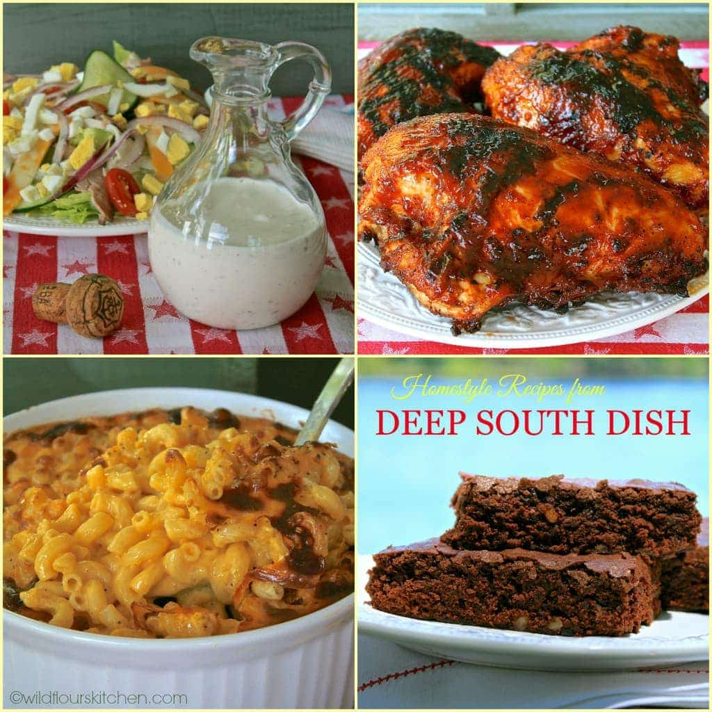 Deep South Dish Collage
