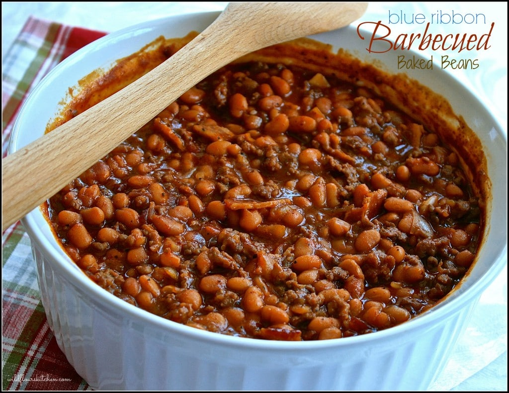 bbqed baked beans 2