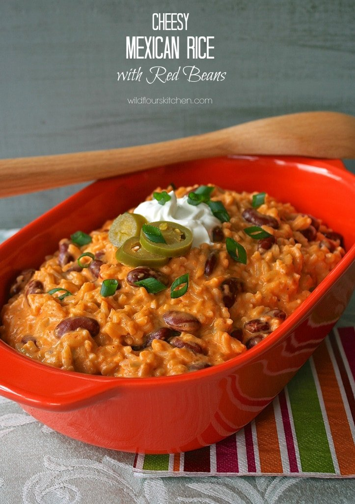 cheesy mexican rice 2