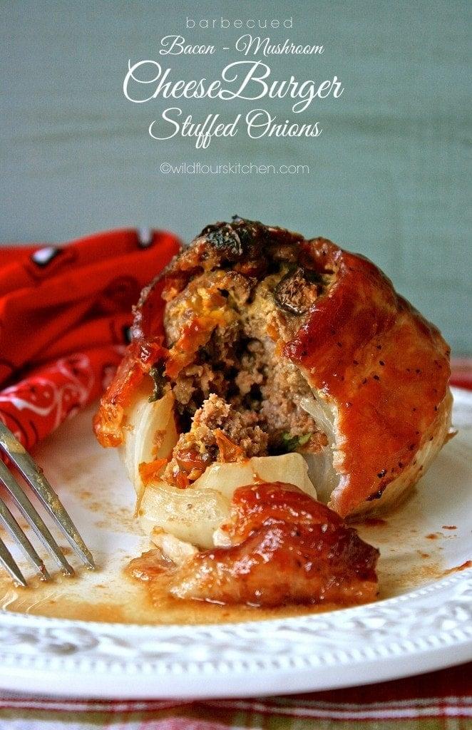 stuffed onions bbq bacon