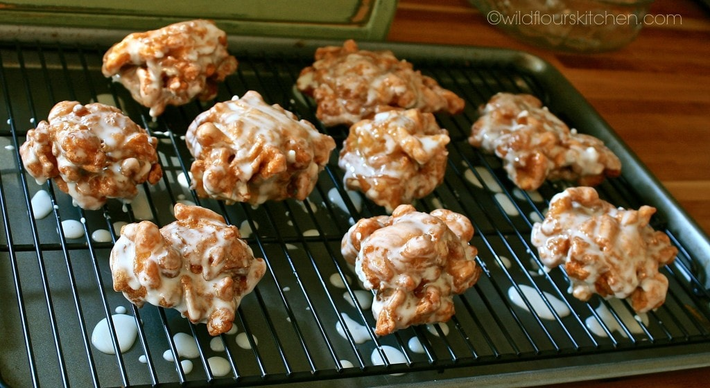 apple fritters basted