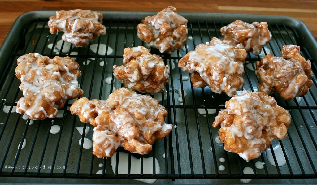 apple fritters ready
