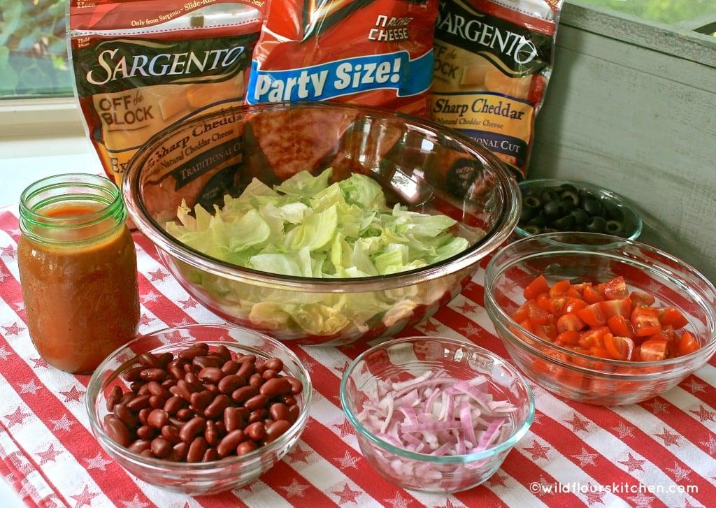 taco salad ingrdnts