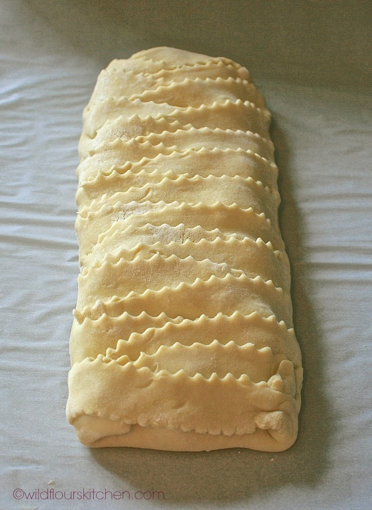 bing cherry strudel braided