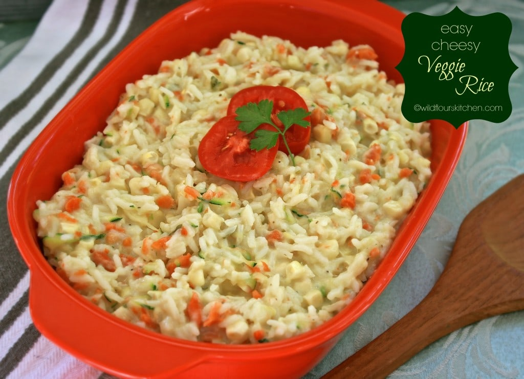 cheesy veggie rice 2