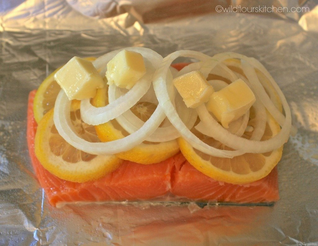 lemon salmon pregrill