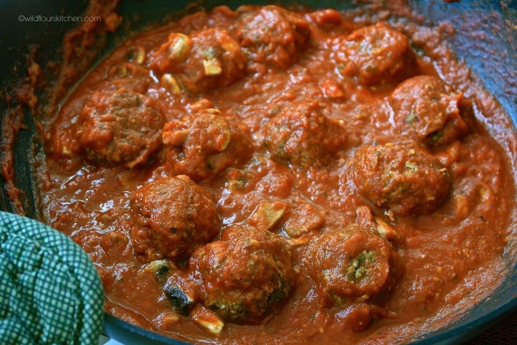 pesto meatballs reduced sc