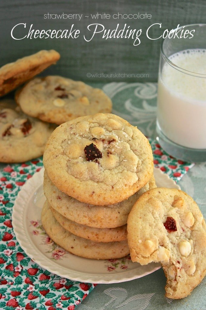srawberry cheesecake cookies smaller