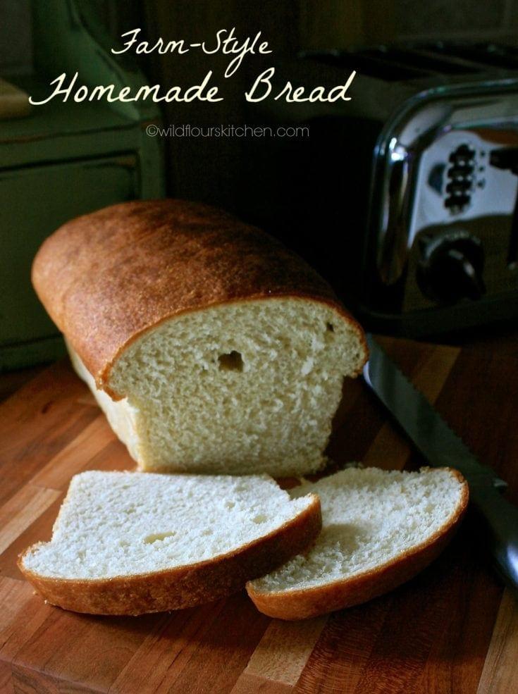 Farm-Style Sandwich Bread