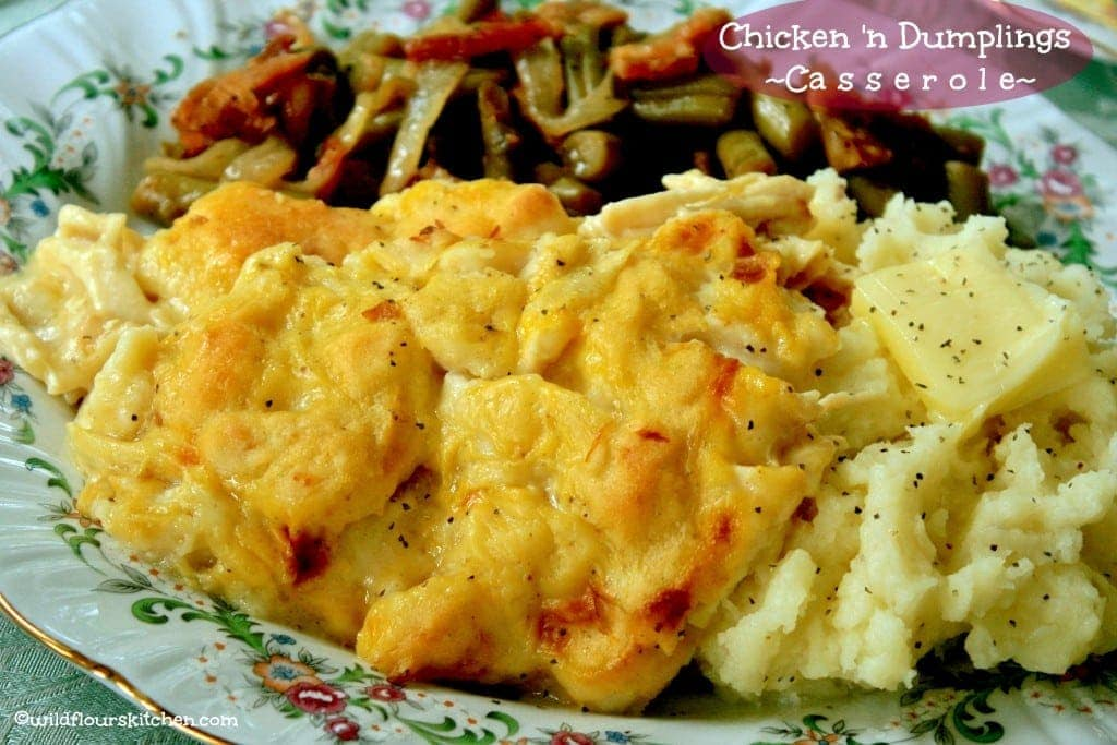 chicken & dumplings cass