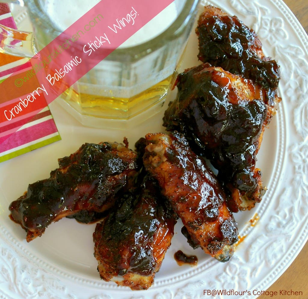 cranberry balsamic wings 2