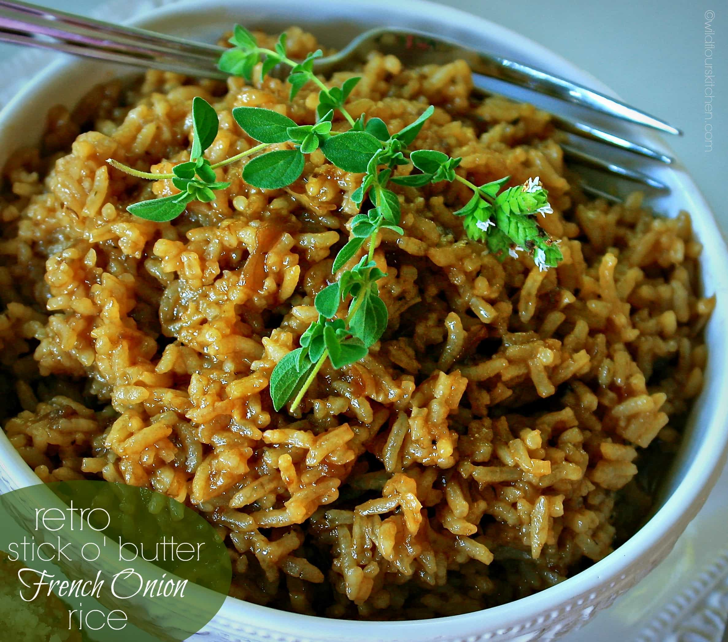 How to make brown rice with beef consomme