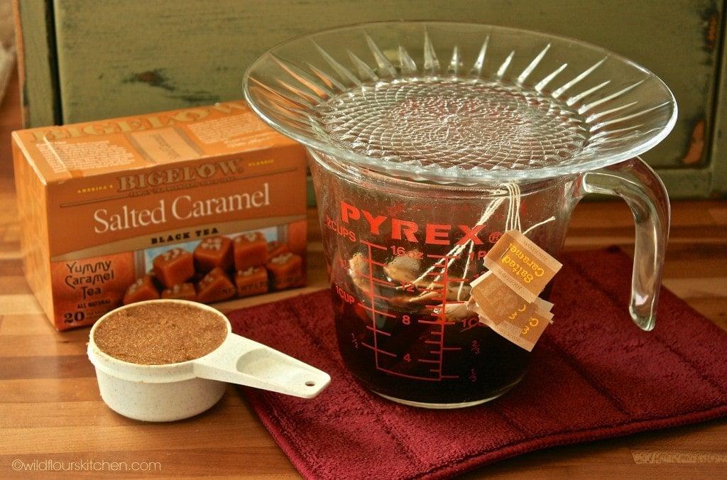 caramel tea concentrate