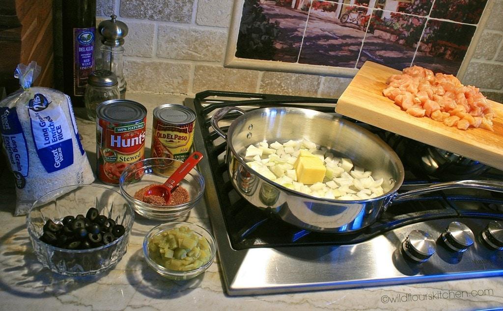 chix enchilada ingrdnts