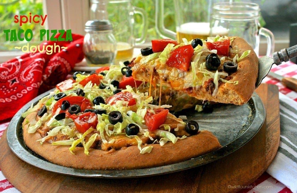 taco pizza dough