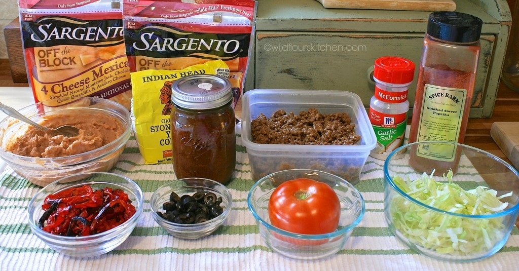 taco pizza ingredients
