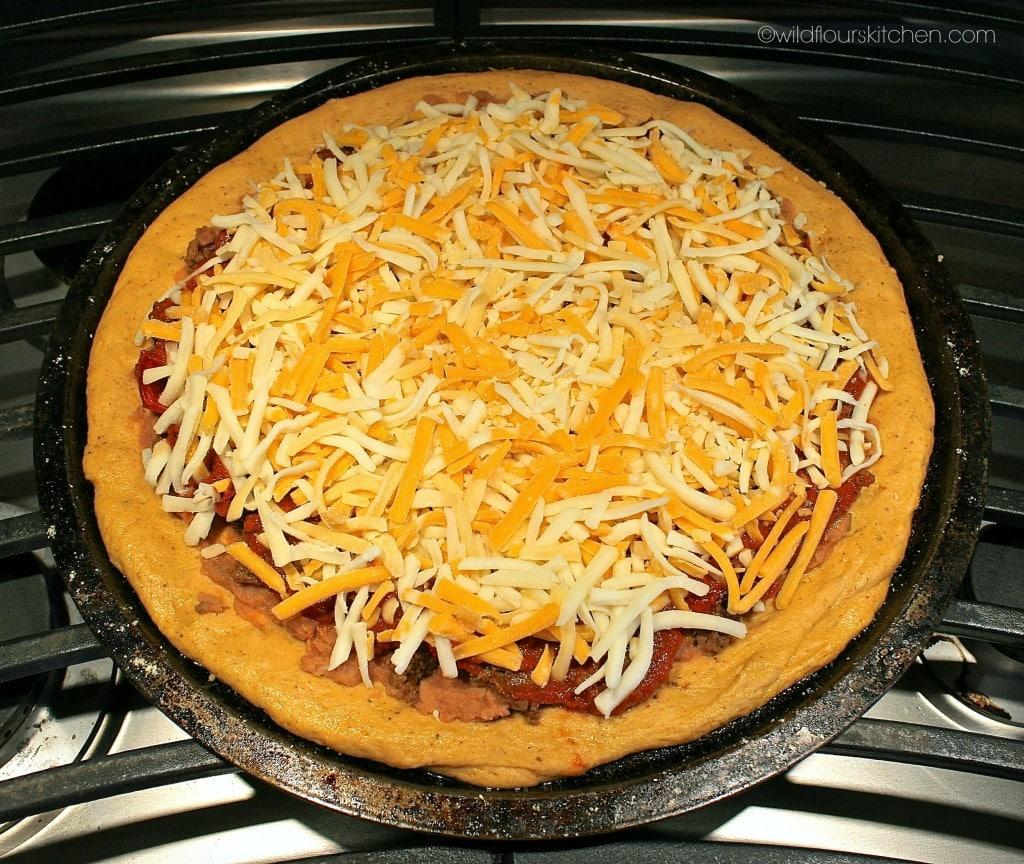 taco pizza prebake