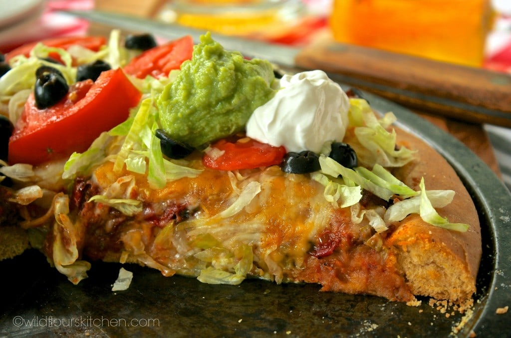 taco pizza slice