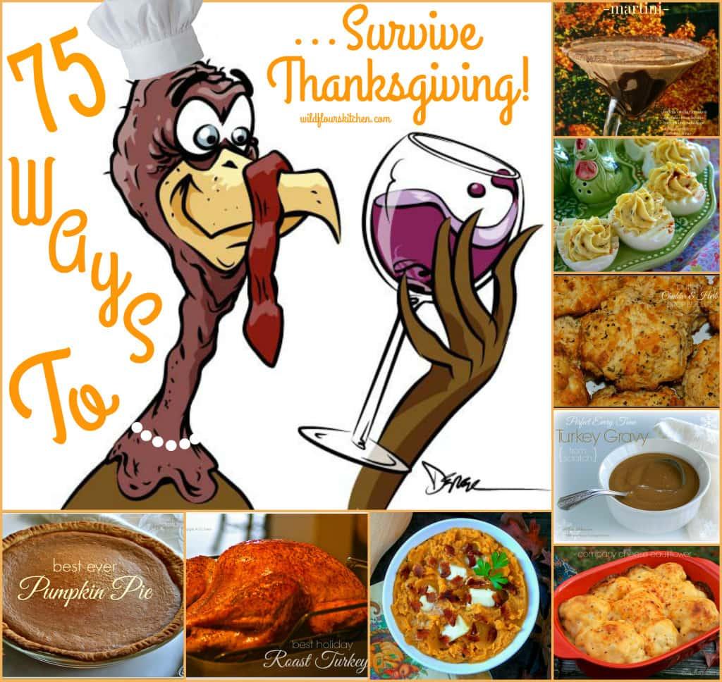 Thanksgiving Recipe Collage